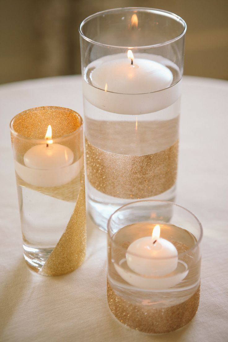 centerpieces for wedding receptions with candles%0A Rancho Palos Verdes Wedding from Brandon Kidd  Candle Wedding CenterpiecesFloating