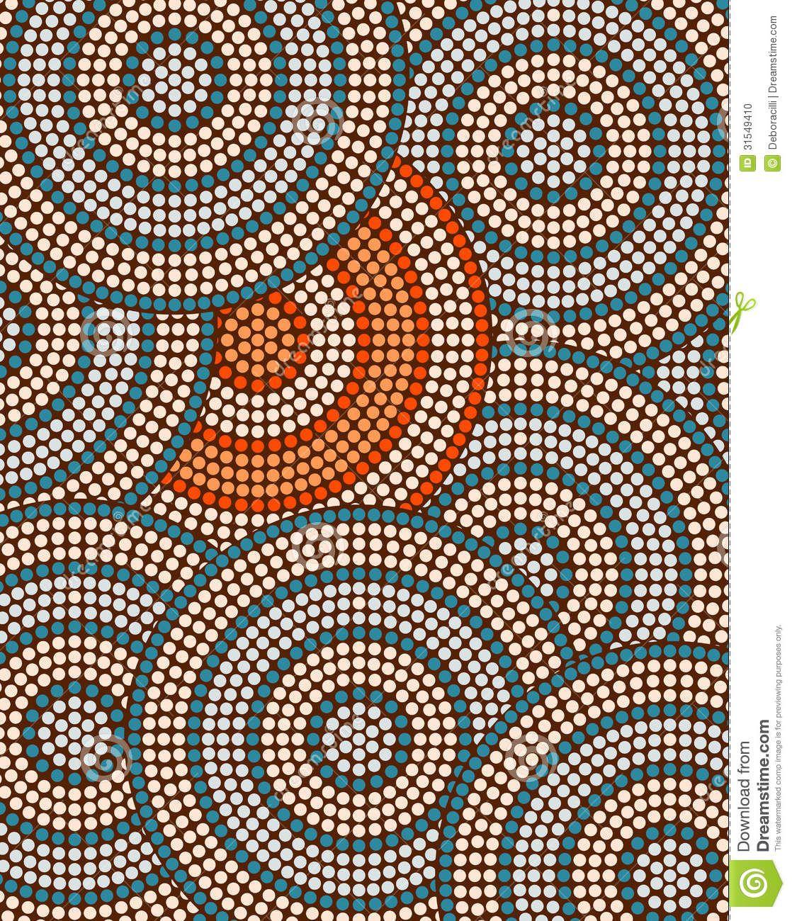 dot painting, aboriginal - Google Search