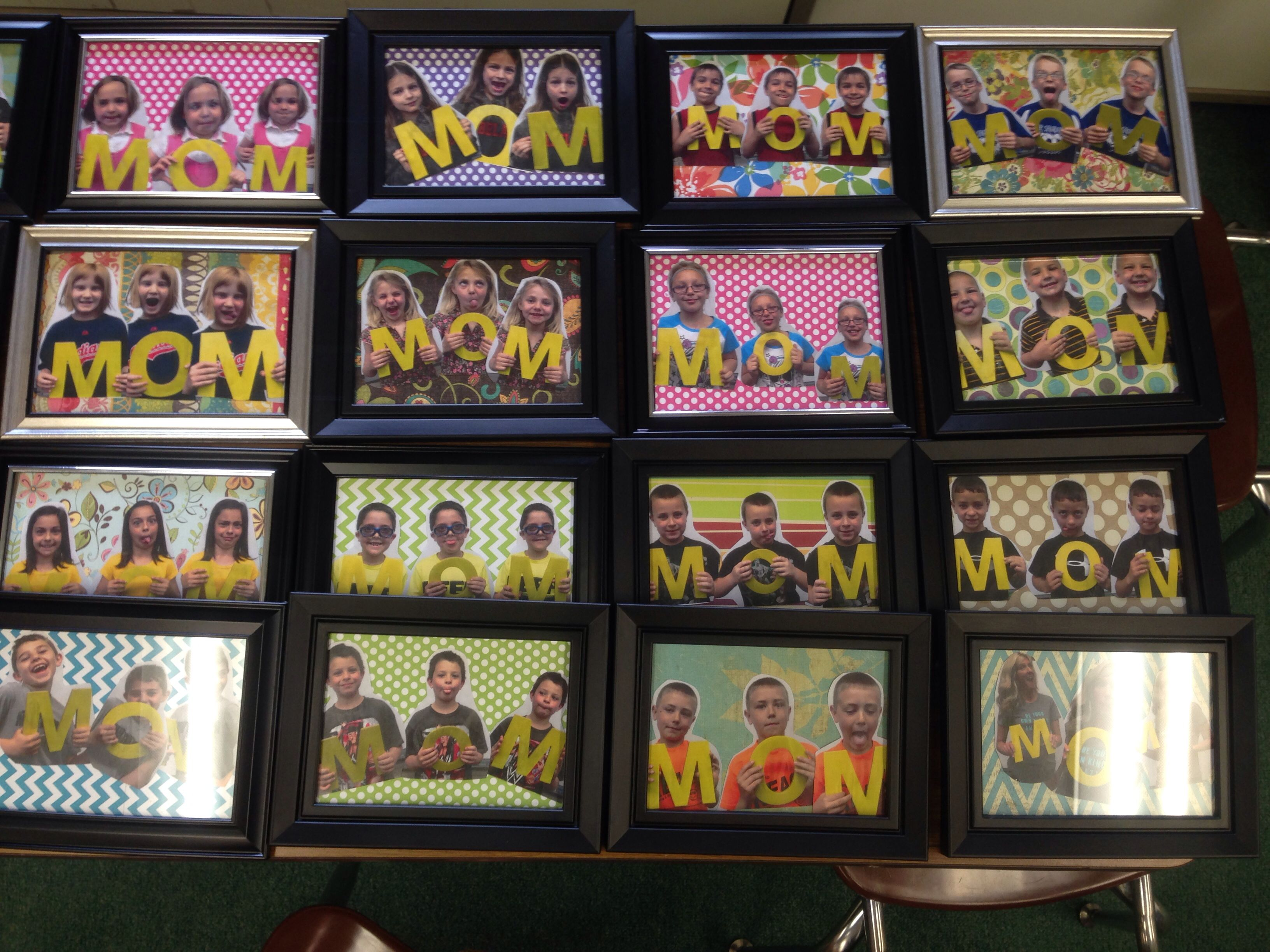 Mothers Day Dollar Store Frames Cardboard Mom From Hobby Lobby