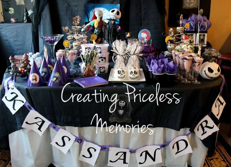 Wonderful Nightmare Before Christmas Party Ideas Part - 14: Nightmare Before Christmas Birthday Party Ideas | Photo 13 Of 19 | Catch My  Party