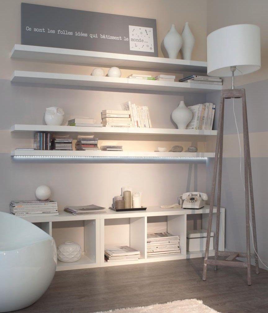 idée-déco-petit-salon-meubles-modulables | Apartment in 2019 ...