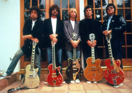 The Traveling Wilburys - Bob Dylan, Roy Orbison, Tom Petty, George Harrison, and Jeff Lynne