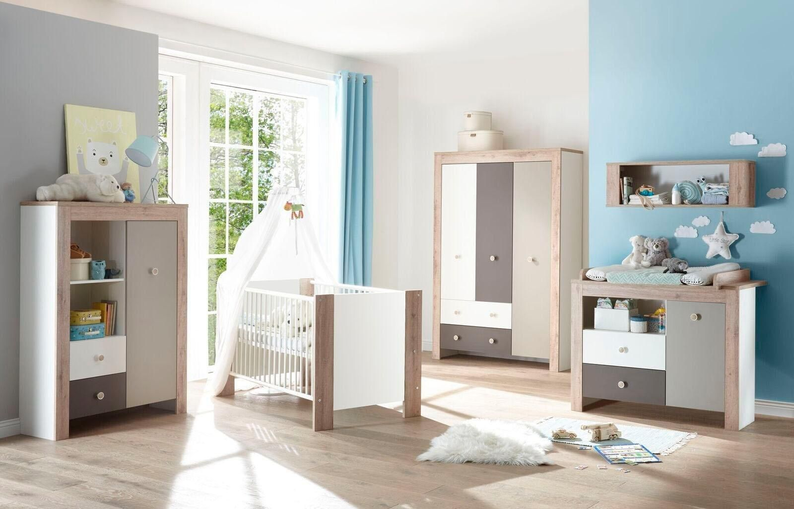 Babyzimmer Komplettset Madrid Set 3 Tlg Toddler Bed Home