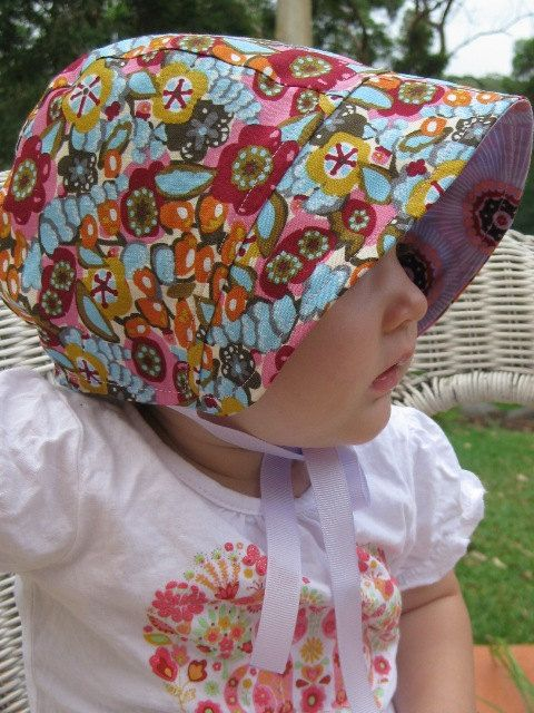 Pdf Pattern Little Bonnet Clothing For Kids Bonnet