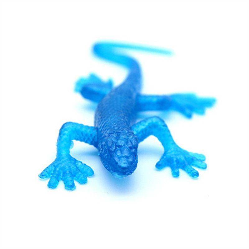Lustige neuheit elemente anti stress TDR weiche tier modelle gecko streich liefert jake spielzeug gag geschenke kinder pädagogisches