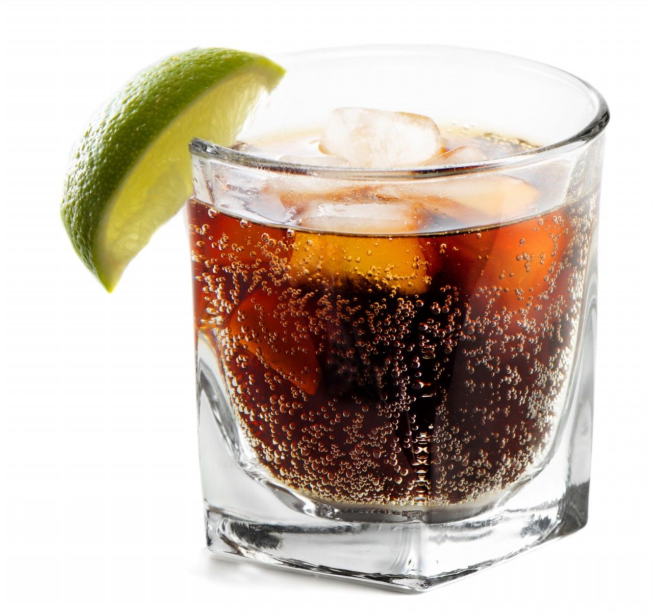 The Black Russian Cocktail Of Vodka And Coffee Liqueur
