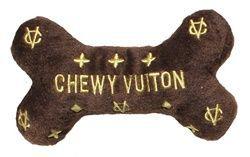 Chewy Vuiton Knochen Plüschtier - Regular   - TOYS  Posh Puppy Boutique -