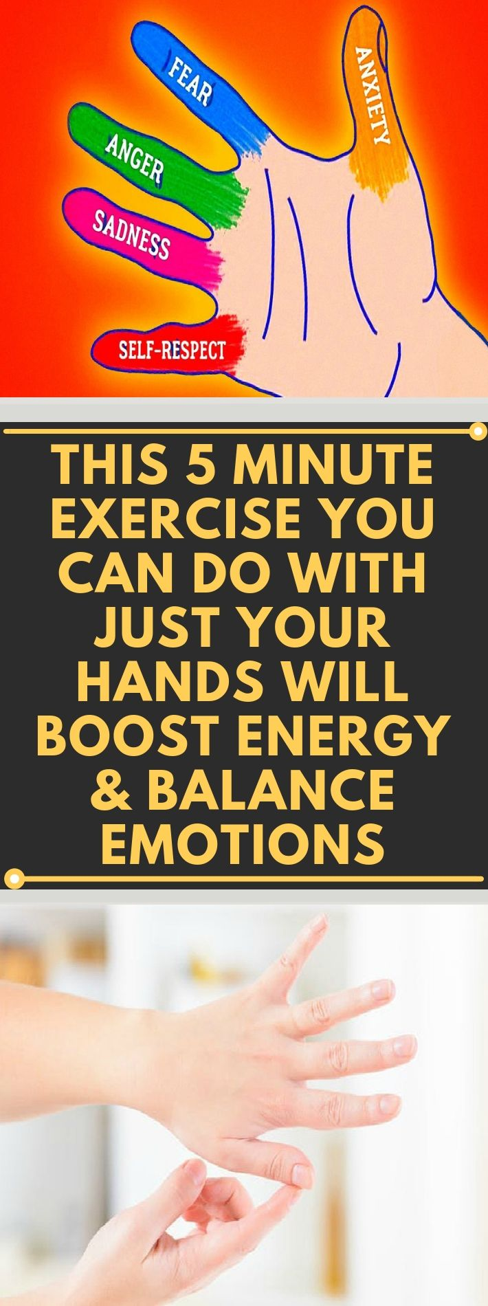This 5 Minute Exercise You Can Do With Just Your Hands