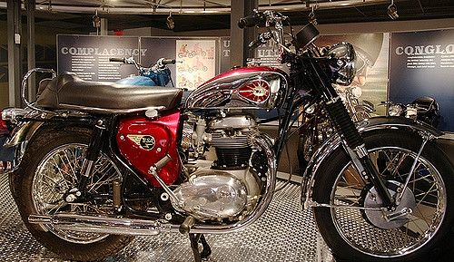 1966 Bsa A65 Lightning Bsa Motorcycle Classic Bikes Old Motorcycles