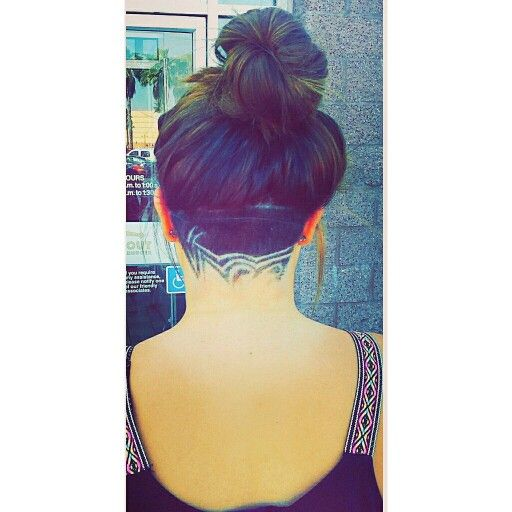 29+ Haircut designs on back of head ideas