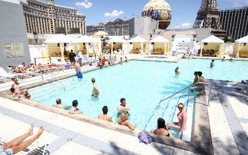 Planet Hollywood Pool Las Vegas Bikini Contest Popular Draw At Planet Hollywood Resort 39 S Pool
