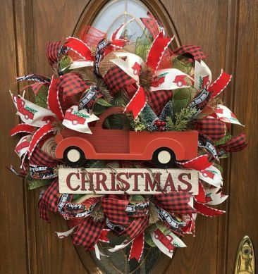 49 gorgeous whimsical handmade christmas wreath design ideas to rh pinterest com