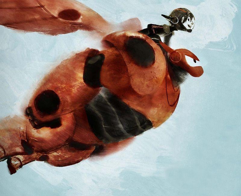 Big hero 6 the art of disney walt disney animation