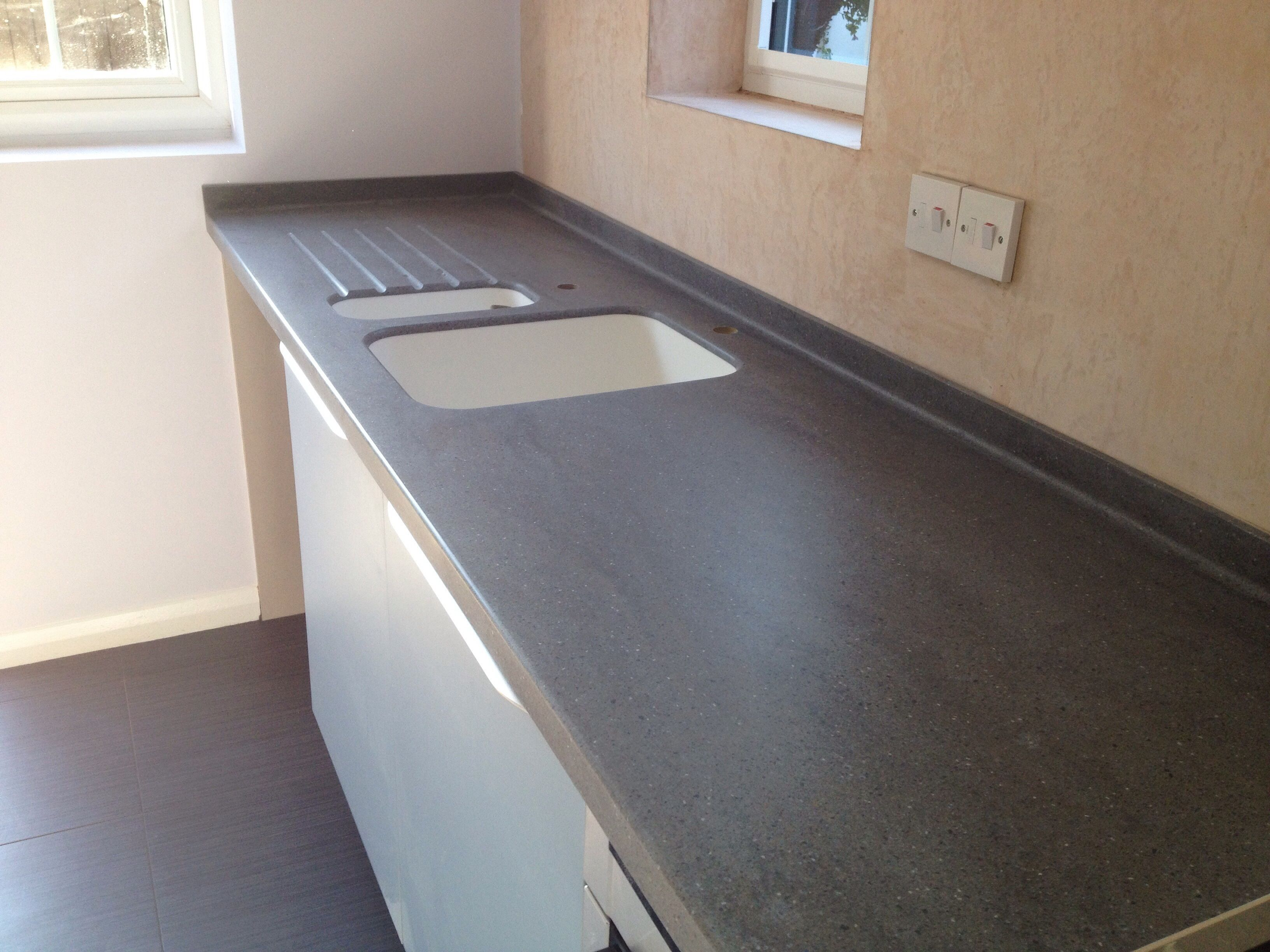 Lava Rock Corian Grey With Images