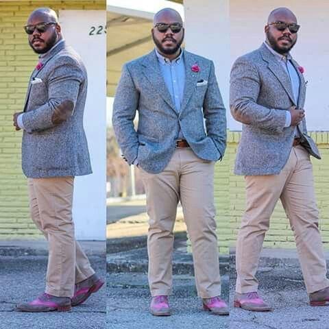 As melhores dicas de looks para homens gordinhos