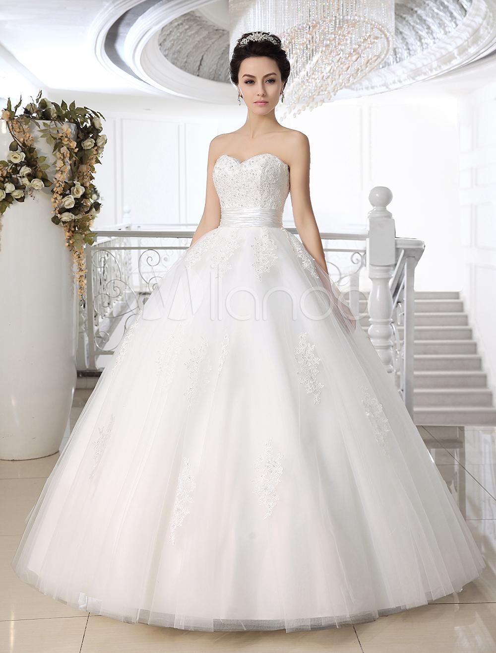 627f6d2f907e vestidos de noiva tomara que caia com renda e tule com espartilho ...