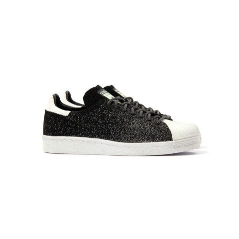 official photos 87503 f1a6b Adidas Superstar 80s PK ASG (BlackWhite-Crywht)Glow in the dark  upperPremium Prime Knit MaterialLimited edition All-Star release