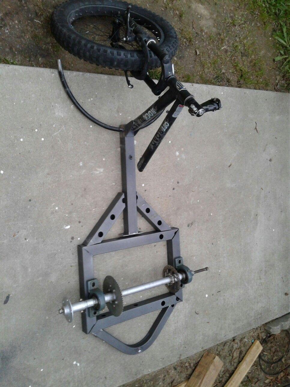Drift trike frame DIY | One day | Drift trike frame, Drift