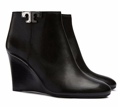 978957f31ef27 Tory Burch wedge booties... perfect for Fall