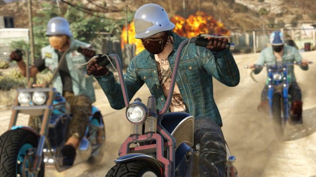 I M Already Obsessed With Gta Online S New Bikers Dlc Gta Online