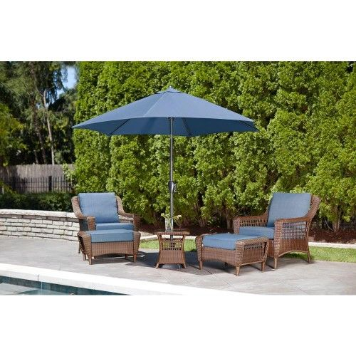 hampton bay 66 20301 spring haven brown all weather wicker patio rh pinterest com