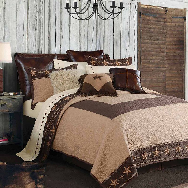 Hiend Accents Star Ranch Quilt Set Hiend