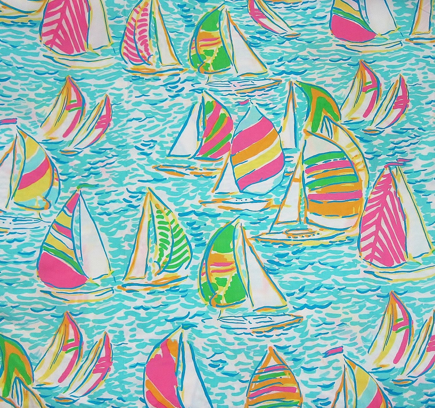 Lilly Pulitzer Fabric Authentic New Lilly Pulitzer Fabric 2012 Fall Multi You Gotta