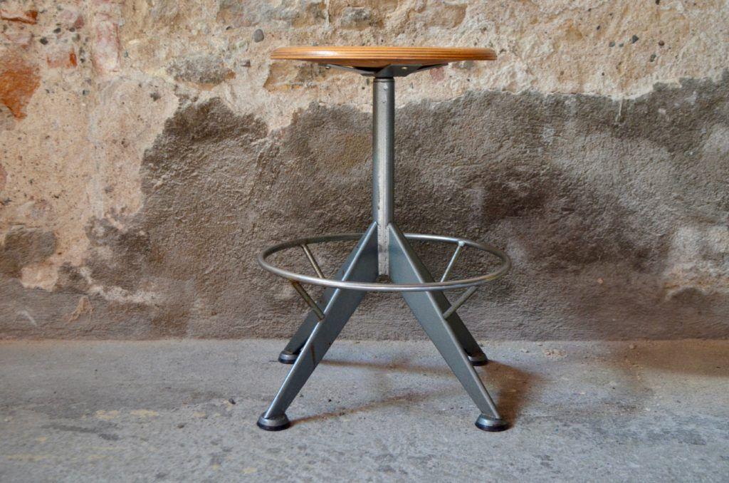 Tabouret D Atelier Mario Meuble Vintage Mobilier De Salon Deco Boheme