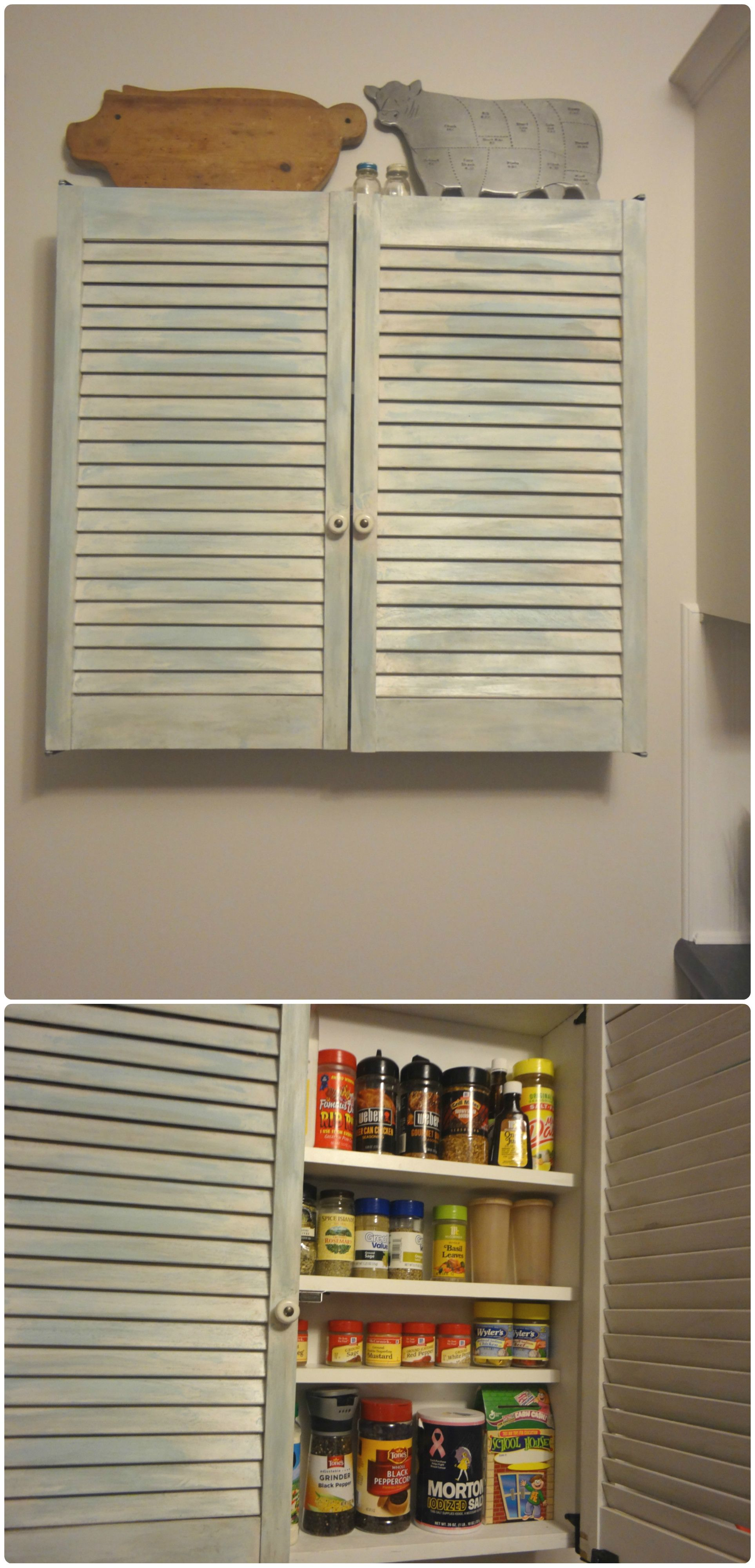 spice cabinet diy cheap unfinished louvered doors cut to size over rh pinterest co uk