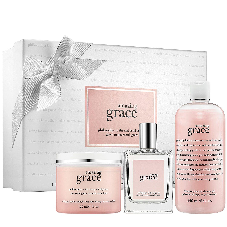 Amazing grace gift set philosophy sephora beauty