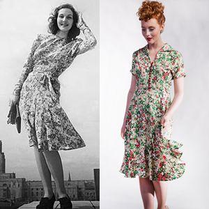 1940s Tea Dresses