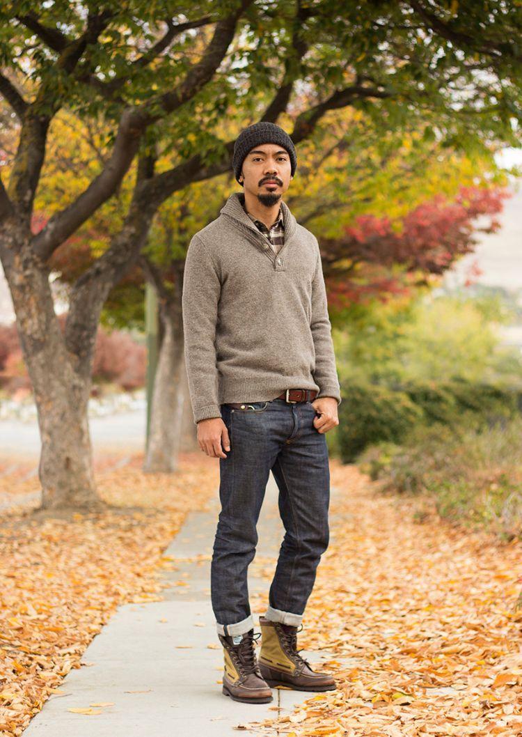 Hemd unter Pullover richtig tragen – Tipps und Kombinationen