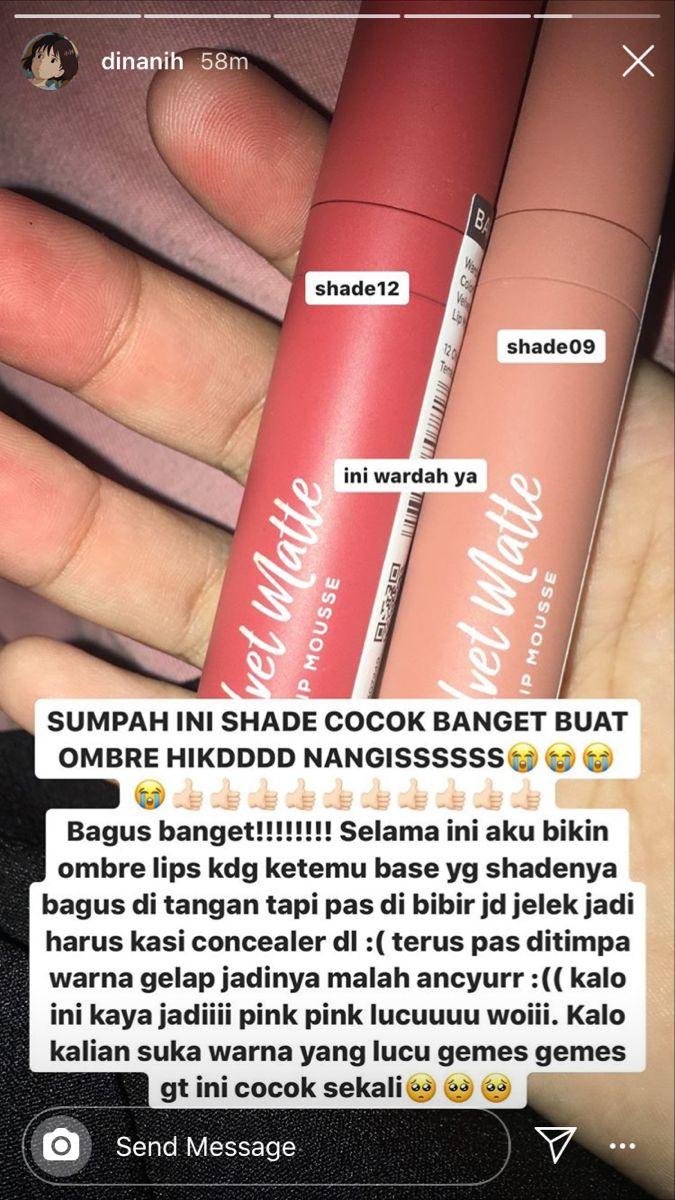 Pin Oleh Mimahzahrah Di Girls Pewarna Bibir Warna Bibir Perawatan Bibir