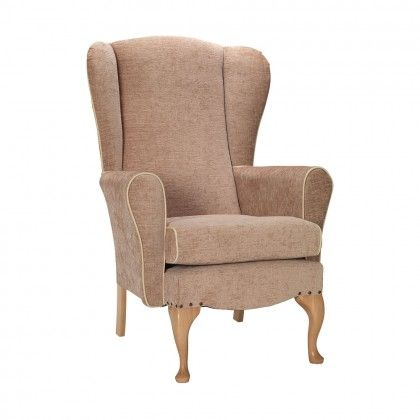 dunbridge queen anne chair in ivory soft feel waterproof fabric with rh pinterest com