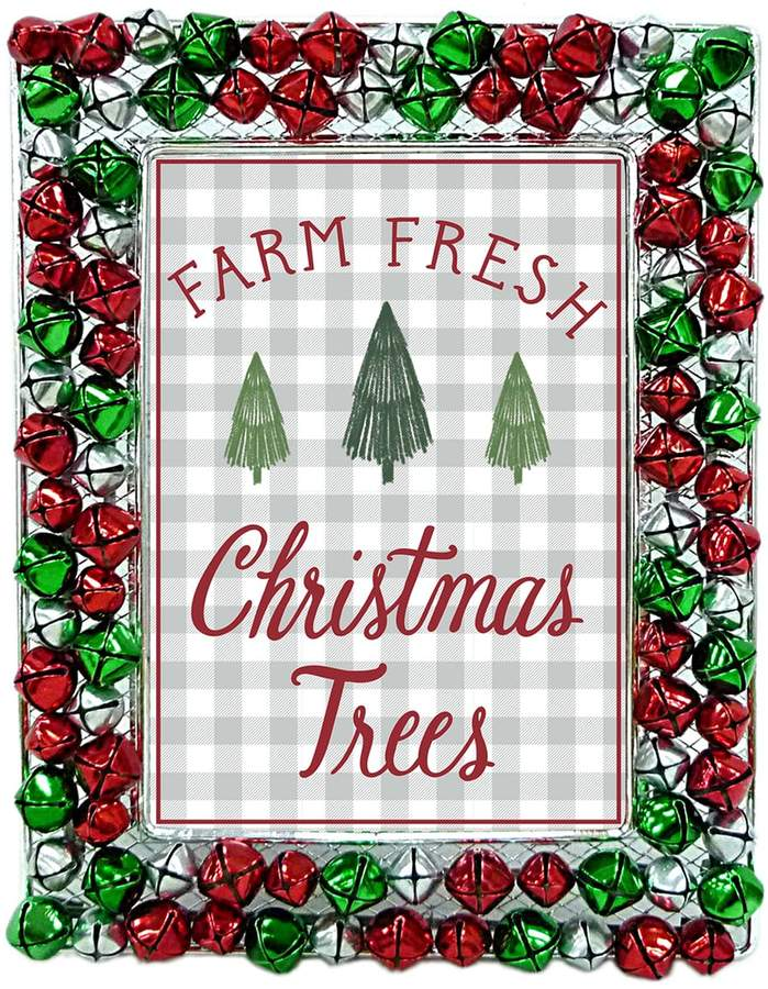 St Nicholas Square Jingle Bells 5 X 7 Christmas Frame Kids Crafts