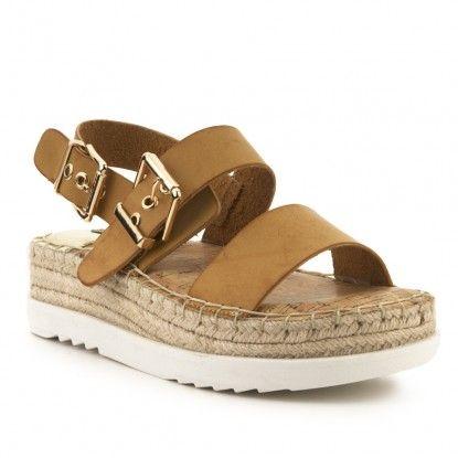 Sandalia flatform MUSTANG | Zapatos de tacones, Zapatos