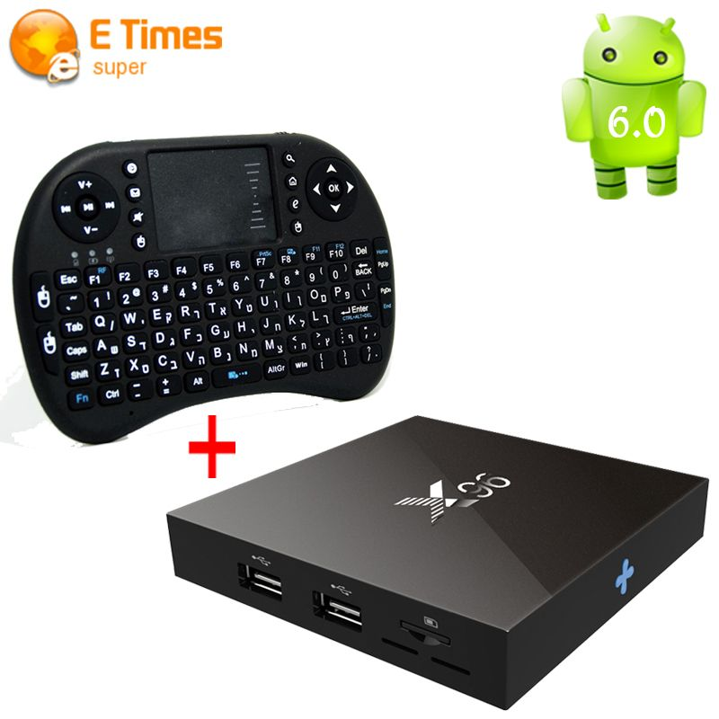 Sales Prices X96 Android 6 0 Smart Tv Box Amlogic S905X Quad