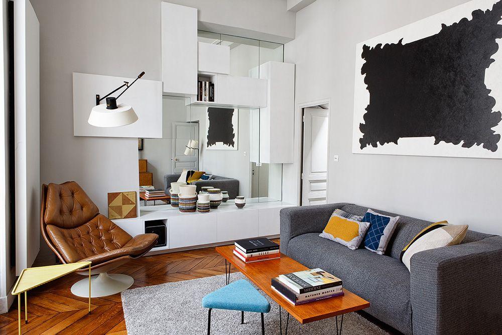 appartement de 40m2 paris 3e charlotte vauvillier architecte d 39 int rieur home is. Black Bedroom Furniture Sets. Home Design Ideas