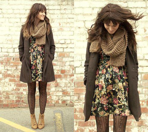indie grunge fashion | ... fashion hipster style autumn hipster scarf hipster sweater indie indie