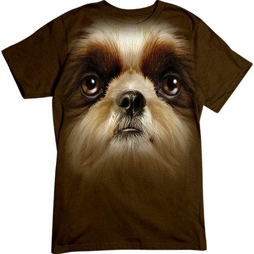 Basic Tee Oversized Shih Tzu Shih Tzu Shih Tzu Dog Dogs