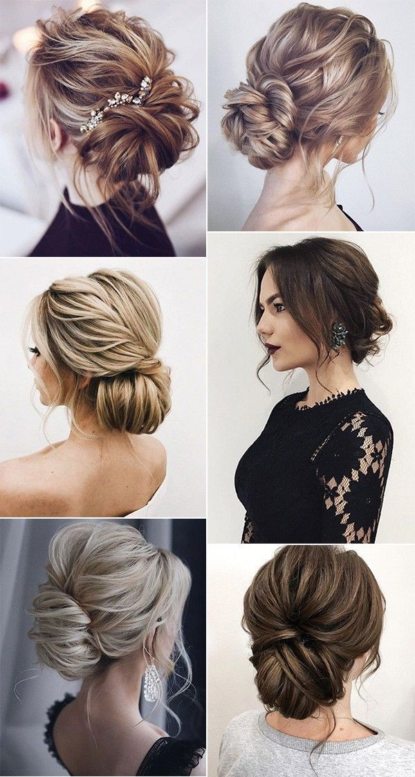 18 Trending Messy Updos Wedding Hairstyles Youll Love – Boda fotos