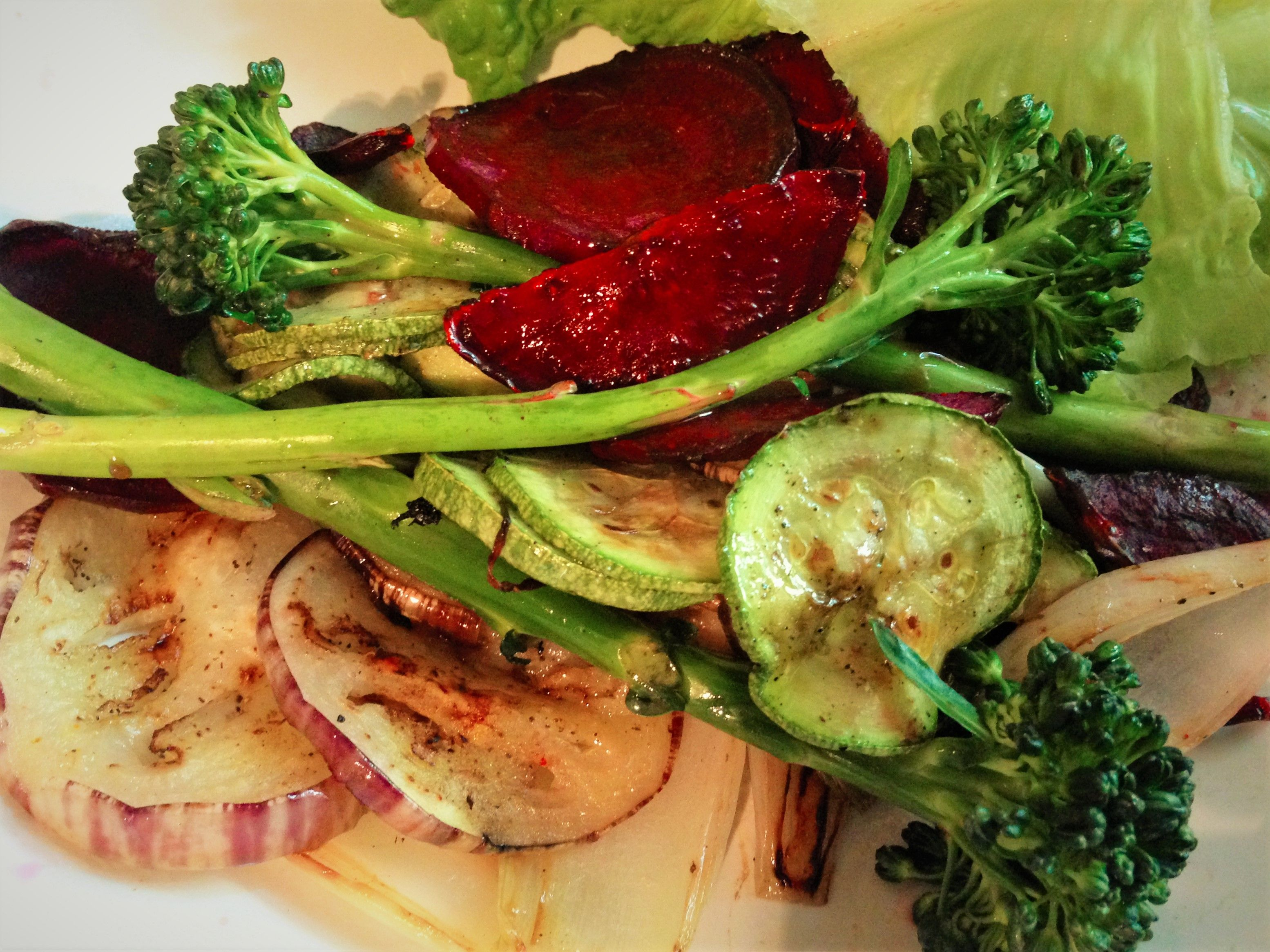 Resultado de imagen para Vegetales asados