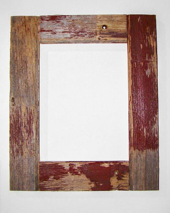 Authentic BarnWood Frame 16x20, Old Barn Wood, Recycled, RePurposed ...