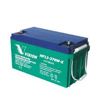 vision vrla agm industrial battery hf12 370w 12v 80ah. Black Bedroom Furniture Sets. Home Design Ideas