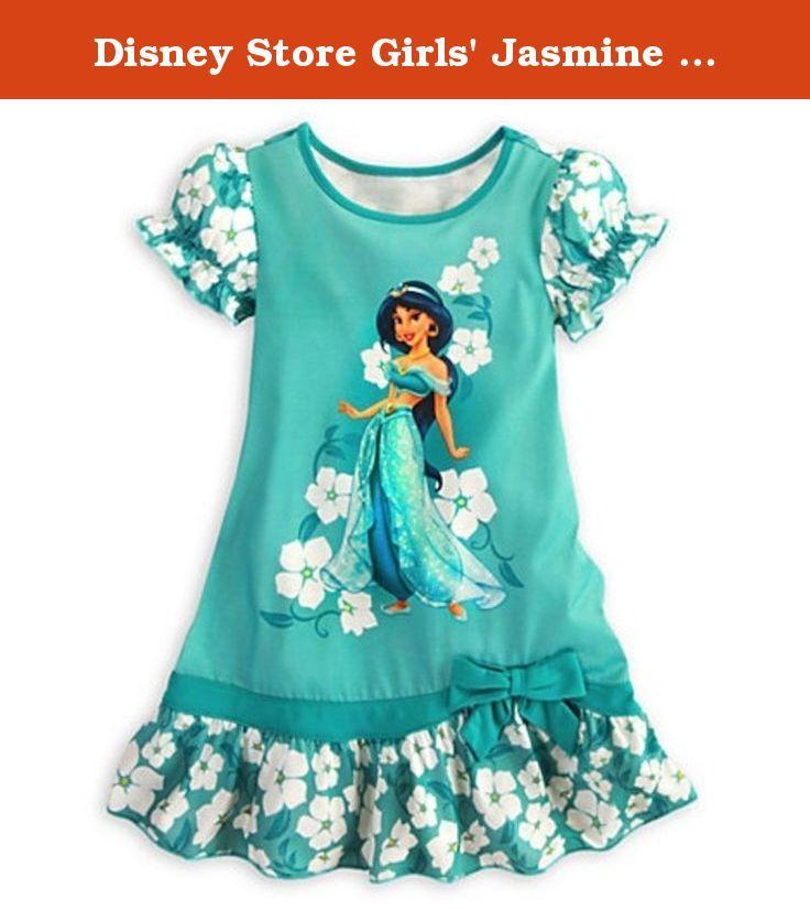 6886457059 Girls  Clothing (Sizes 4  amp  Up) Disney Princess Jasmine Nightshirt  Nightgown Aladdin