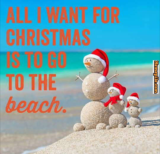 All I Want For Christmas Is To Go To The Beach Snowman Meme Beach Christmas Beach Signs Beachy Christmas