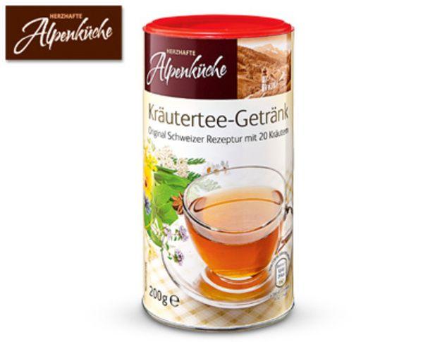 HERZHAFTE ALPENKÜCHE Schweizer Tee-Getränk von Aldi Süd | Pinterest