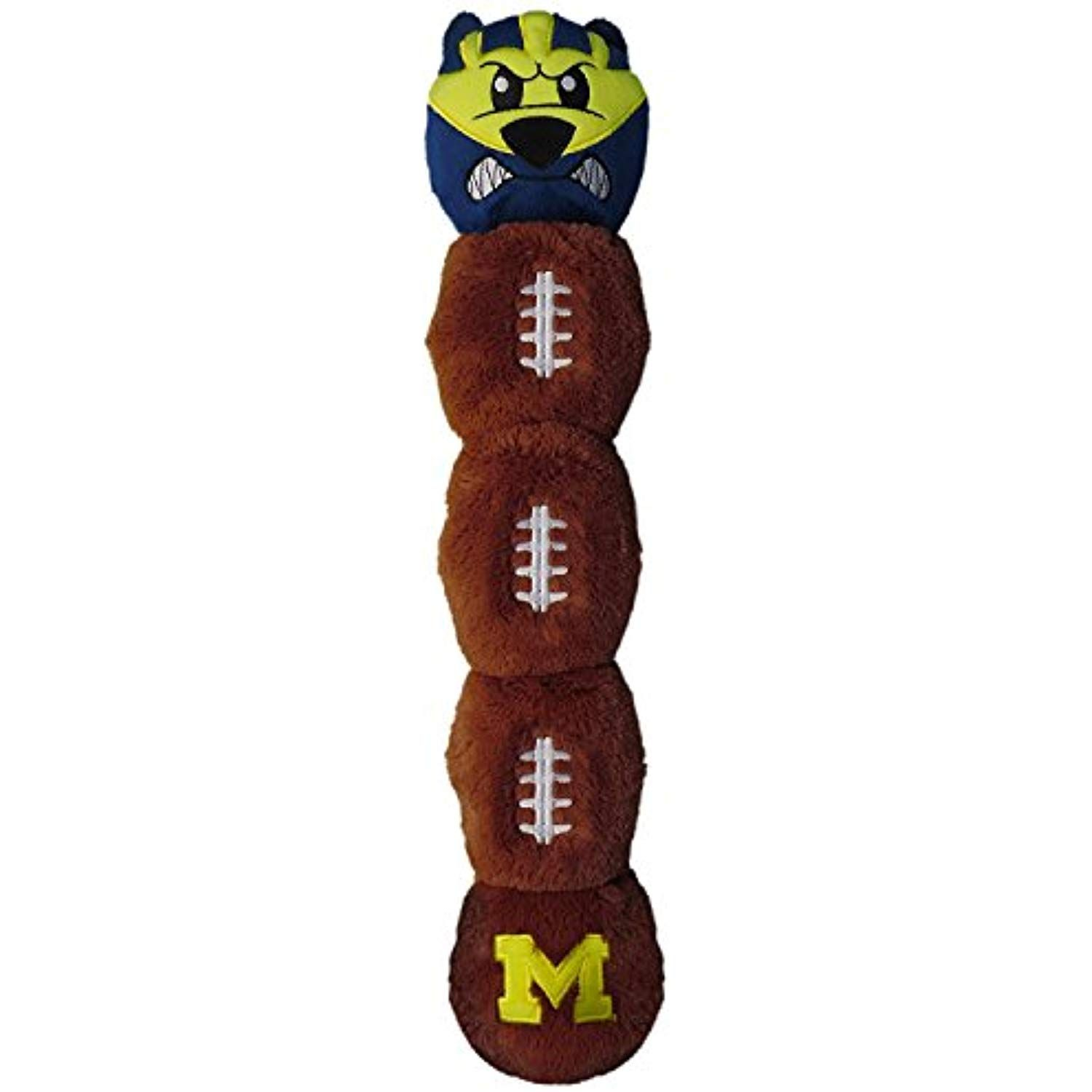 Michigan wolverines pets first plush 5 squakers mascot