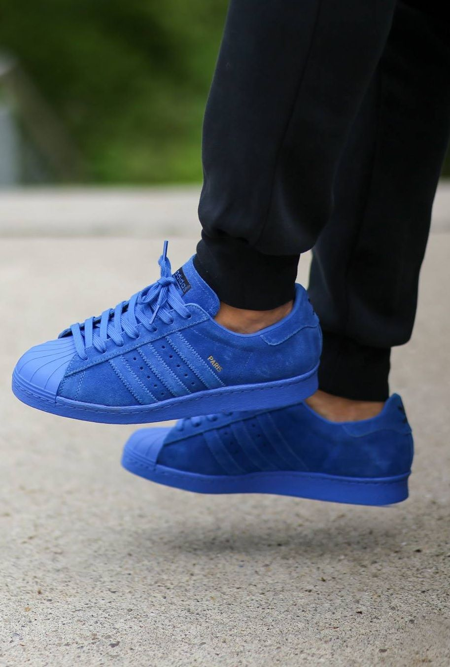 adidas superstar men Blue