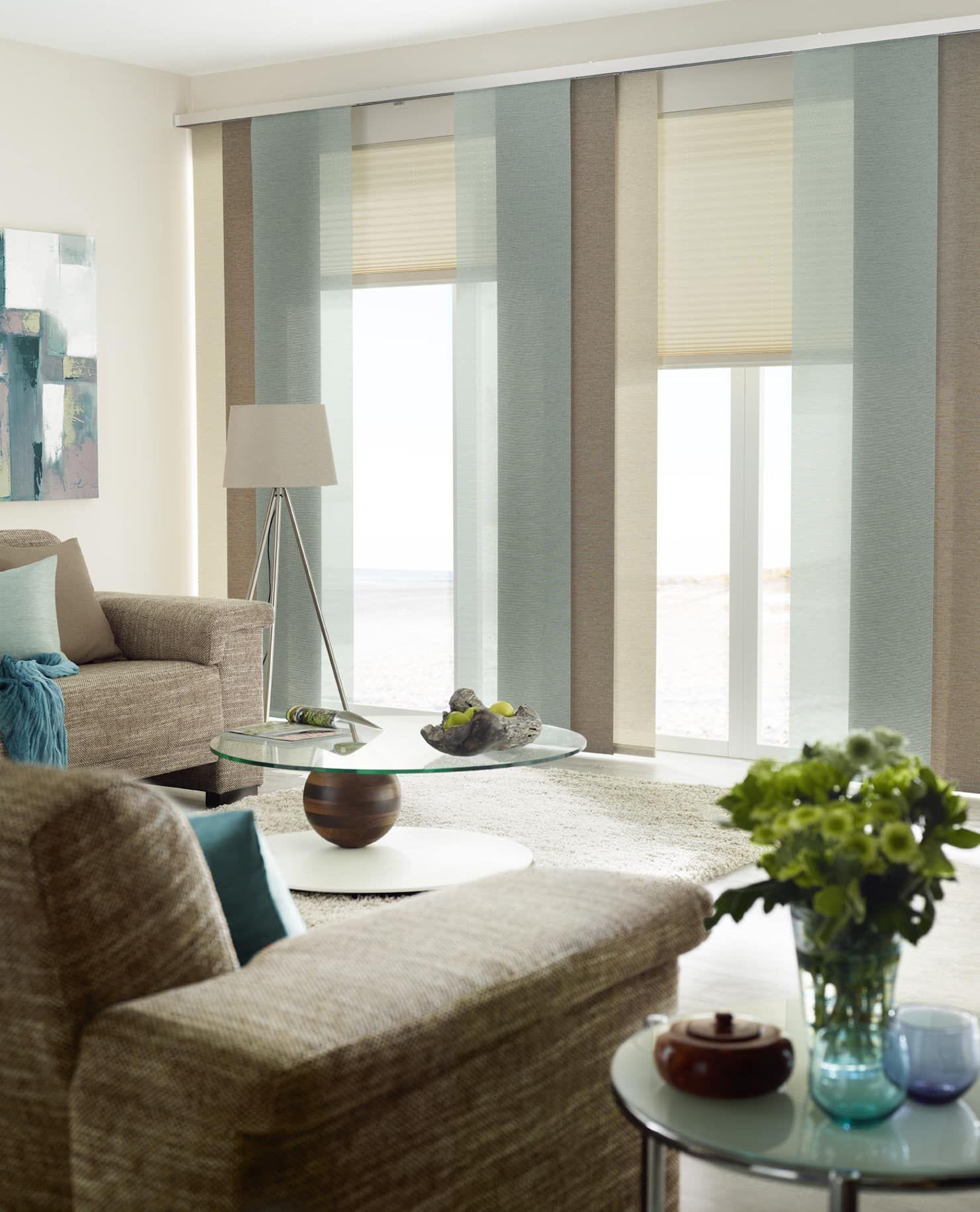 Gardinen, Sonnenschutz, Plissee - LivingReet: moderne Wohnzimmer